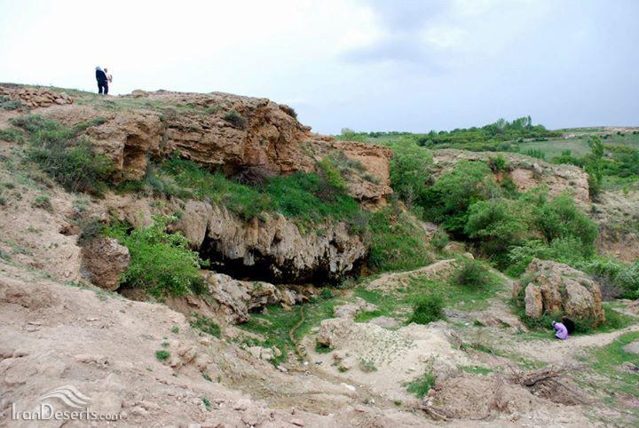 آبشار دامجی قیه، مرند