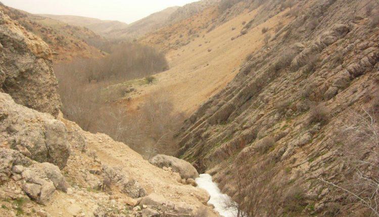 بالا دست آبشار رودشیر، سپیدان