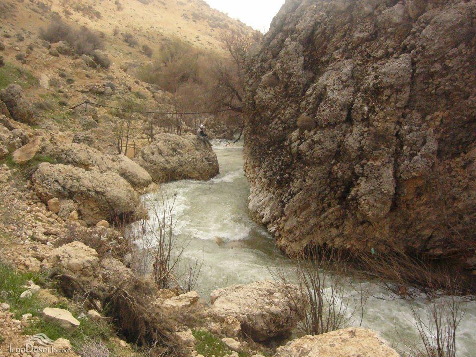 پایین دست آبشار رودشیر، سپیدان