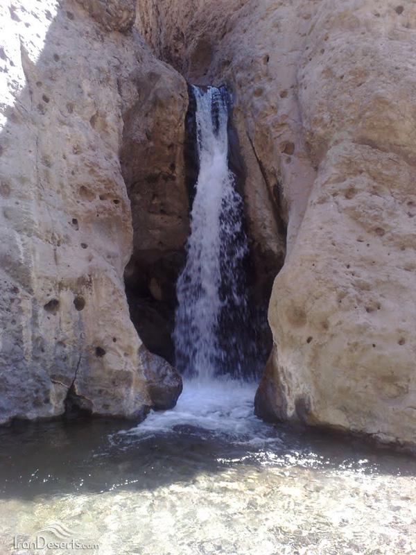آبشارهای دره شنگستان (وامق آباد)، کرمان