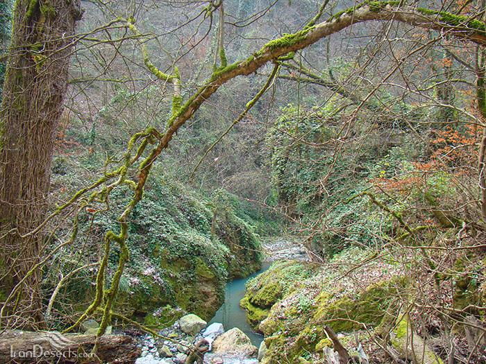 مسیر آبشار شفیع آباد (اوشرشره)، خان ببین