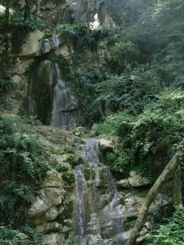 آبشار چلم زرین گل، علی آباد کتول