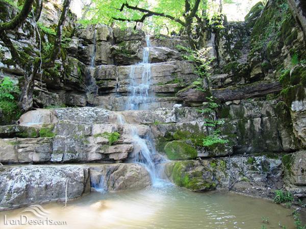 آبشارهای پاکندس، گالیکش