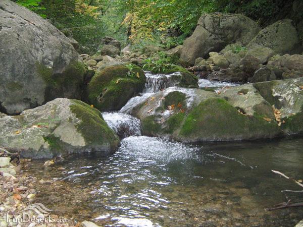 مسیر آبشارهای پاکندس، گالیکش