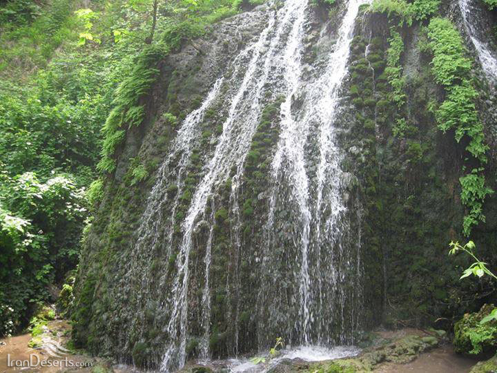 آبشار لاشو، آزادشهر، تصویر از کیوان فرهمند