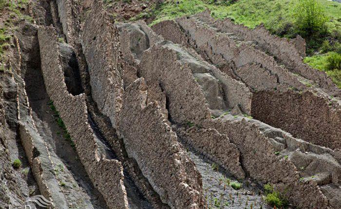 دره فرسایشی قره سو، کلات