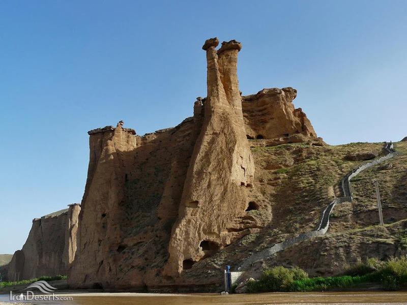 قلعه بهستان، ماهنشان