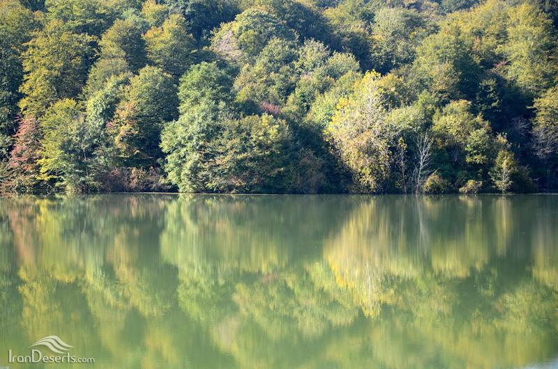 دریاچه الیمالات، نور